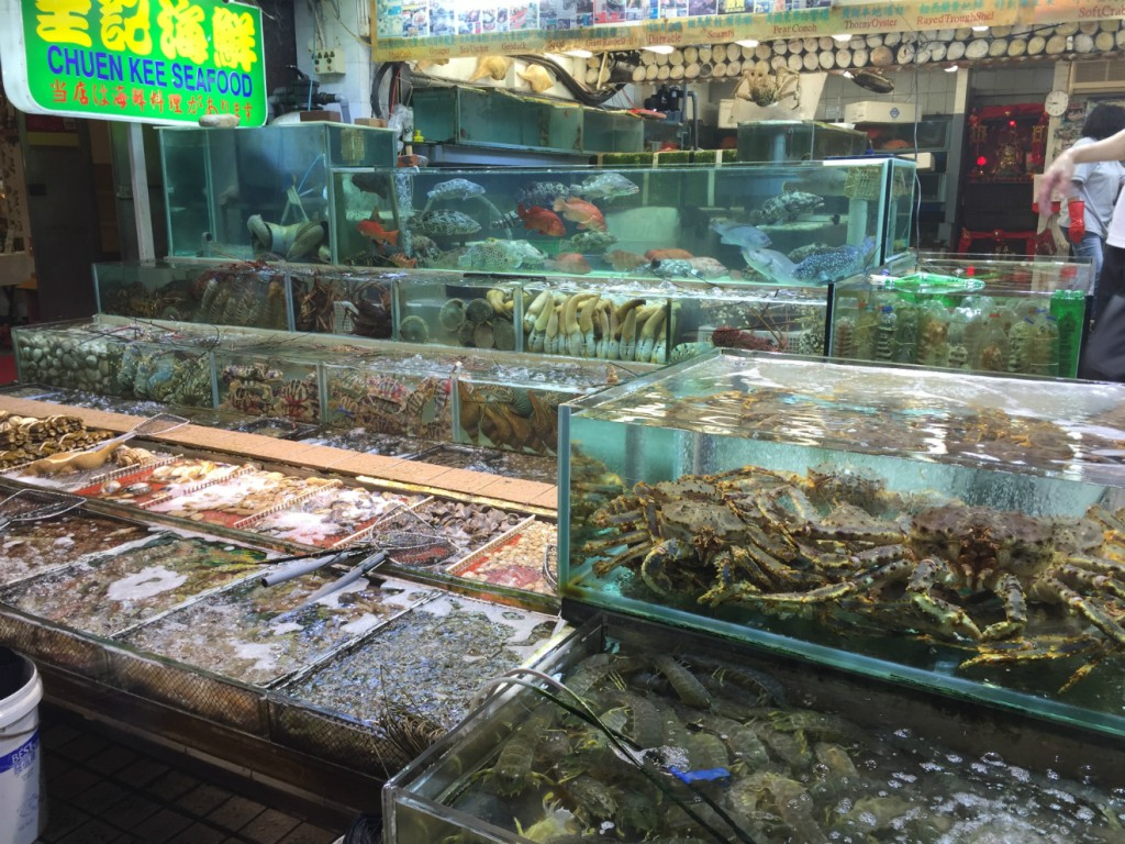 Pick your seafood